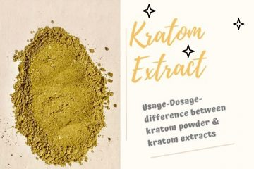 Kratom Extract Online – Grading Of Extracts