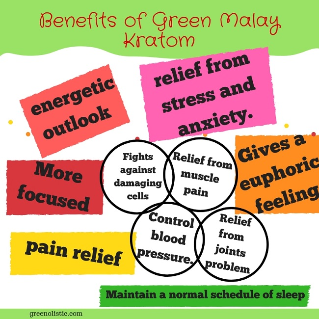Benefits of Green Malay Kratom
