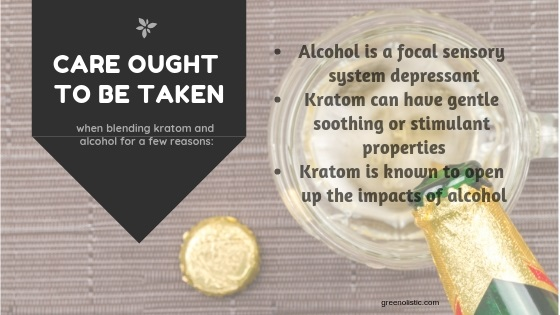 Kratom And Alcohol consumption care
