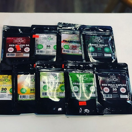 Earth kratom Products