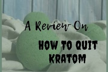 An Easy Way of Quitting Kratom Usage