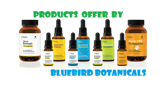 bluebird botanicals products